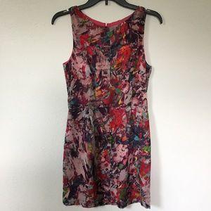 Anthropologie BB Dakota Arty, Colorful Dress